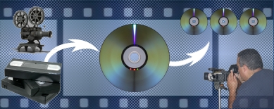 Video to DVD/Blu-ray/Hard Drive, 8mm/Super8/16mm to DVD/Blu-ray/Hard Drive, Audio to CD or MP3, and more